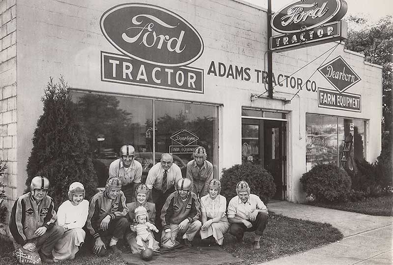 Adams Tractor Established