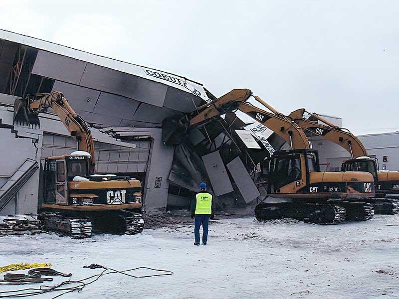 Heavy Snow Causes Collapse