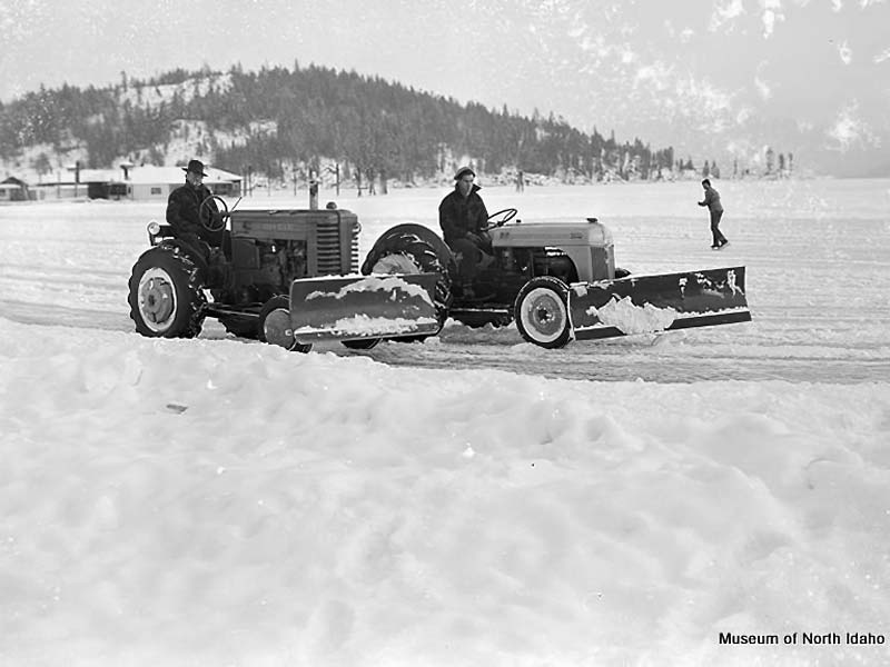 Tractor on Ice