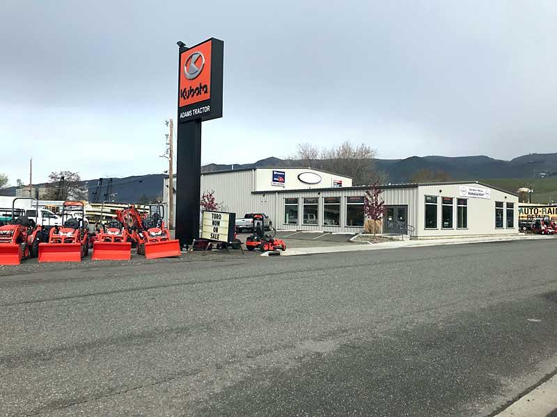 Adams Tractor Lewiston Opens