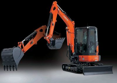 Kubota Introduces New KX033-4 Compact Excavator