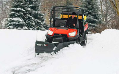 What Snow Tools Work Best on UTVs?