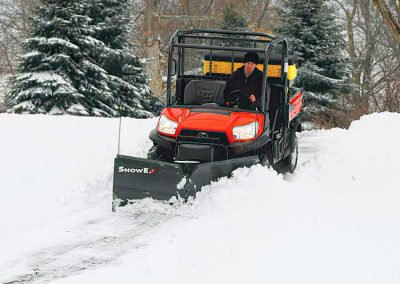What Snow Tools Work Best on UTVs?