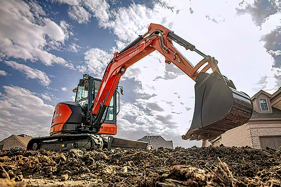 Kubota's Next Generation of Compact Excavators