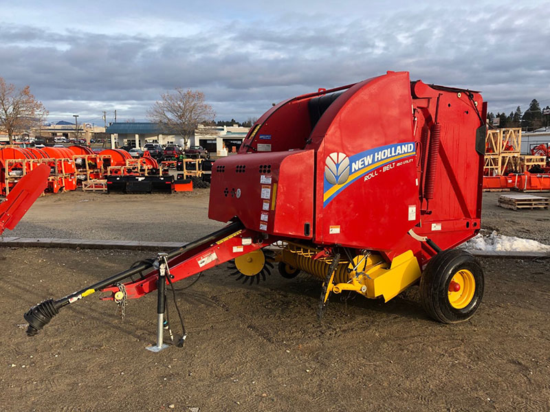 Used New Holland Round Baler